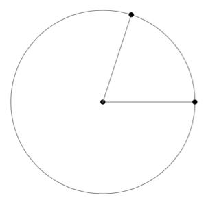 ympyrän piirin laskuri