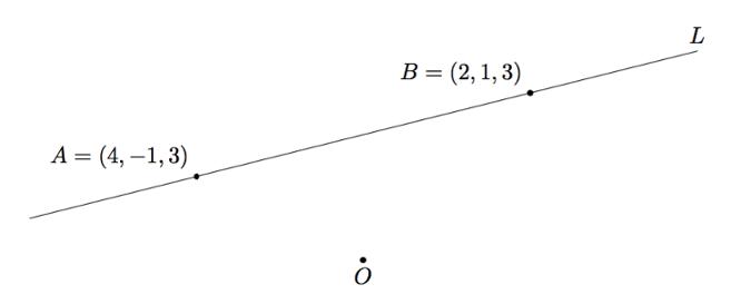 yhdensuuntaisen suoran piirtäminen geometrisesti